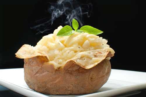 Pommes de terre farcies à la viennoise